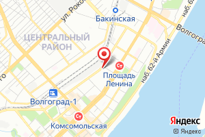 Адрес Волгоградгоргаз на карте