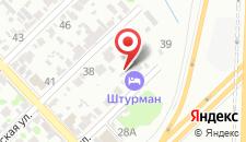 Гостевой дом Штурман на карте