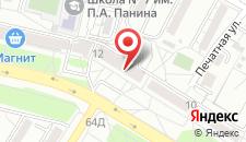 Хостел ГУДЗОН на карте