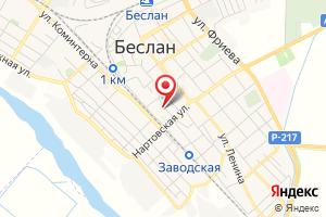 Адрес Унитарное предприятие водопроводно-канализационного хозяйства Правобережного района РСО-Алания на карте