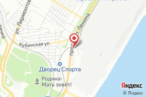 Адрес ГКУ Волгоградской области, дирекция водохозяйственного строительства на карте