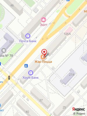 Жар Пицца на карте