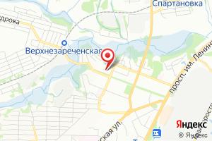 Адрес Газпром межрегионгаз Волгоград, абонентский участок Тракторозаводского района Волгограда на карте