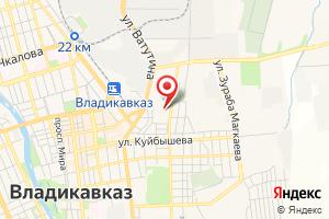 Адрес МУП Владикавказские Водопроводные Сети на карте