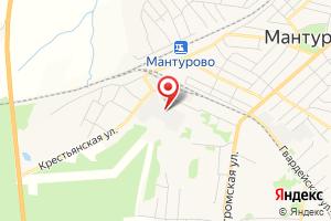 Адрес Электрическая подстанция Мантурово на карте