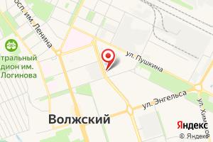 Адрес Газпром газораспределение Волгоград, филиал в г. Волжский на карте