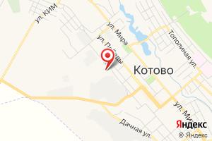 Адрес Газпром межрегионгаз Волгоград, абонентский отдел в г. Котово на карте