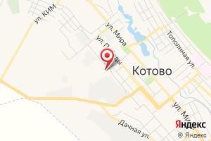 Адрес Газпром газораспределение Волгоград, филиал в г. Котово, Котовский газовый участок на карте