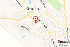 Адрес Котово ГазСтройСервис на карте