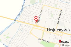 Адрес Ставрополькоммунэлектро на карте
