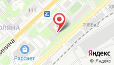 Гостиница Учебно-методического центра профсоюзов на карте