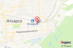 Адрес ГУП Со Облводоресурс - Аткарский на карте