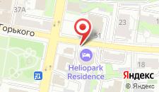 Отель HELIOPARK Residence на карте
