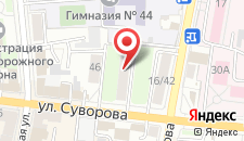Дом Артистов Цирка Арена Пенза на карте