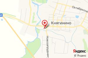 Адрес НижегородЭнергоГазРасчет, абонентский пункт в Княгининском районе на карте
