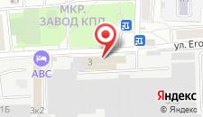Отель АВС на карте