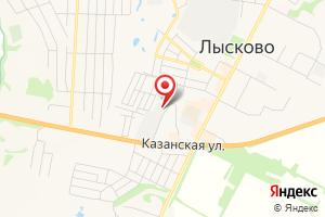 Адрес Газпром межрегионгаз Нижний Новгород, Лысковское отделение отдела режимов газоснабжения на карте