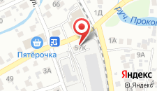 Гостиница Провинция на карте