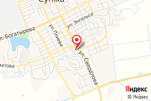 Адрес Сунжа-водоканал на карте