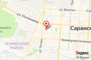 Адрес Саранскводоканал на карте