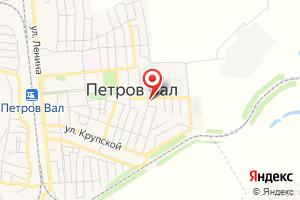 Адрес МУП Водопроводно-канализационное Хозяйство Городского Поселения Петров Вал на карте