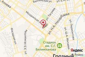Адрес Газпром межрегионгаз Грозный Абонентский отдел г. Грозный на карте