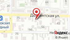 Гостиница ДАЙМОХК на карте