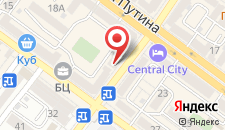 Мини-гостиница Central City на карте