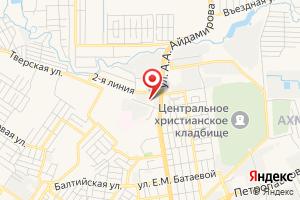 Адрес МУП Водоканал г. Грозного на карте