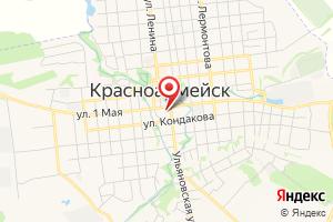 Адрес Газпром межрегионгаз Саратов, отделение по Красноармейскому району на карте