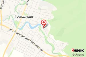 Адрес Городищеводснаб на карте