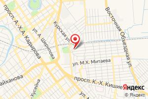 Адрес Газпром межрегионгаз Грозный Абонентский отдел Сунженского района на карте