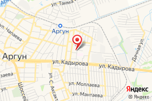 Адрес Чеченгаз филиал Аргунский на карте