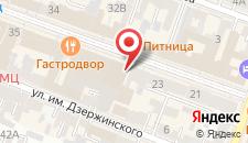 Мини-отель Кают-Компания на карте