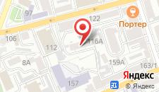 Гостиница Волжанка на карте