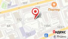 Отель Волжанка на карте