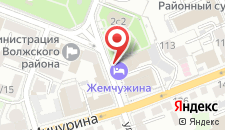 Отель Жемчужина на карте