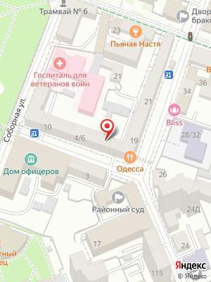 Нагоя суши на карте