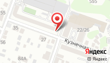Гостиница На Кузнечной на карте