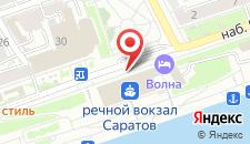 Отель Волна на карте