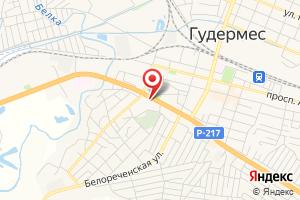 Адрес Чеченэнерго на карте