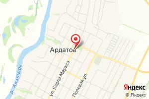 Адрес Газпром межрегионгаз Саранск, территориальный участок г. Ардатов на карте