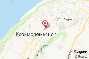 Адрес Газ-сервис на карте