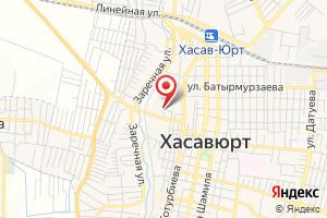 Адрес ЖКХ Хасавюртовское на карте