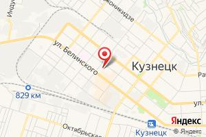 Адрес Газпром межрегионгаз Пенза, Кузнецкое отделение по работе с населением на карте