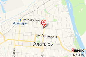 Адрес Энергосбытовая компания Алатырское МО ЧЭСК на карте