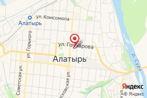 Адрес Газпром газораспределение филиал в г. Алатырь на карте