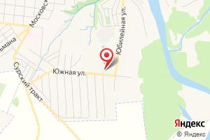 Адрес Электрическая подстанция Сура на карте