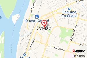 Адрес Газовая служба Котласгаз на карте