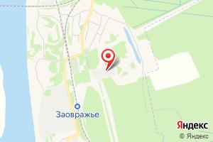 Адрес Электрическая подстанция Заовражье на карте
